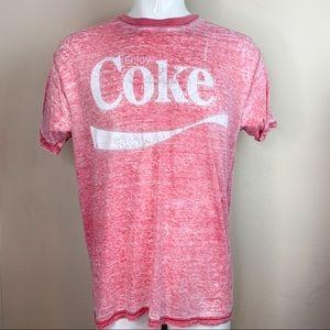 Coca Cola Vintage Coke Burnout Short
